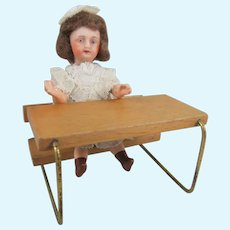 Adorable Mignonette, 3 ½ Inches, With Schoolroom Desk
