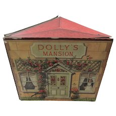 Dolly's Mansion - Rare Doll House Book Published 1893