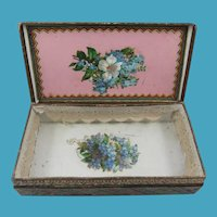 Lovely 19th Century Presentation Box, 7 Inches