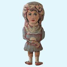 World War 1 Cloth Doll, 14 Inches, English