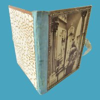 Late 19th Century Glass-Covered Photographic Needle Book
