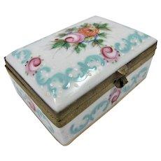 19th Century Continental Porcelain Snuff Box