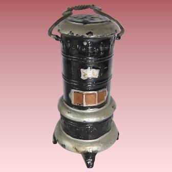 Vintage Barrett & Sons Doll House Kerosene Heater
