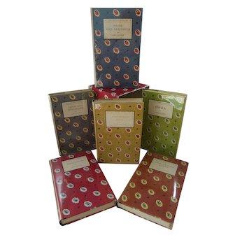 Gorgeous 1949 Complete Slipcase Edition of Jane Austen's Classic Novels