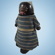 Black Wilson 'Walkies' Wooden Ramp Walker Doll, 4 Inches