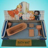 Vintage Boxed Fairylite 'My Dolly's Bathroom' Suite, Made in England