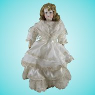 Lovely Antique Francois Gaultier French Fashion Doll, 11 Inches