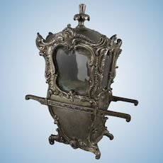 French Sedan Chair Vitrine, 19th Century