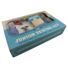 Child's 'Junior Sewing Set', Complete in Original Box, 1940s