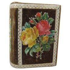 Exquisite Victorian Needle Book with Die Cuts & Concertina Foldout