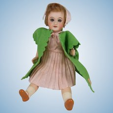 Adorable UNIS France 301 'Flower Fairy' Doll, 7 ½ Inches