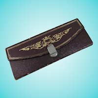 Smart Gold-Tooled Needle Wallet for John James & Sons, Redditch