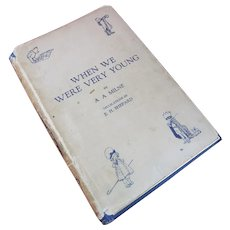'When We Were Very Young' by A.A. Milne, 1925, Including Dust Jacket