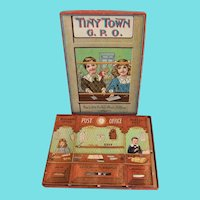Enchanting Tiny Town G.P.O Little Folk's Post Office Boxed Toy, Late Victorian