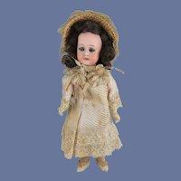 Pretty Simon & Halbig 1078 Doll, 8 Inches