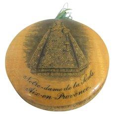 19th Century Mauchline Ware Pin Wheel – Notre Dame de la Seds