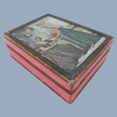 Delightful 19th Century French Bonbon Box, 3 ¼ inches Long