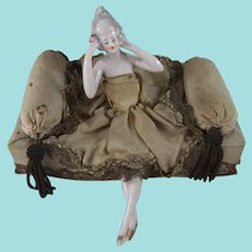 Fabulous Vintage Half Doll Candy Box, 1920s