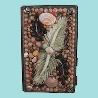 Shell Work Notebook Cover With Pencil & Calendar Notebook For 1855