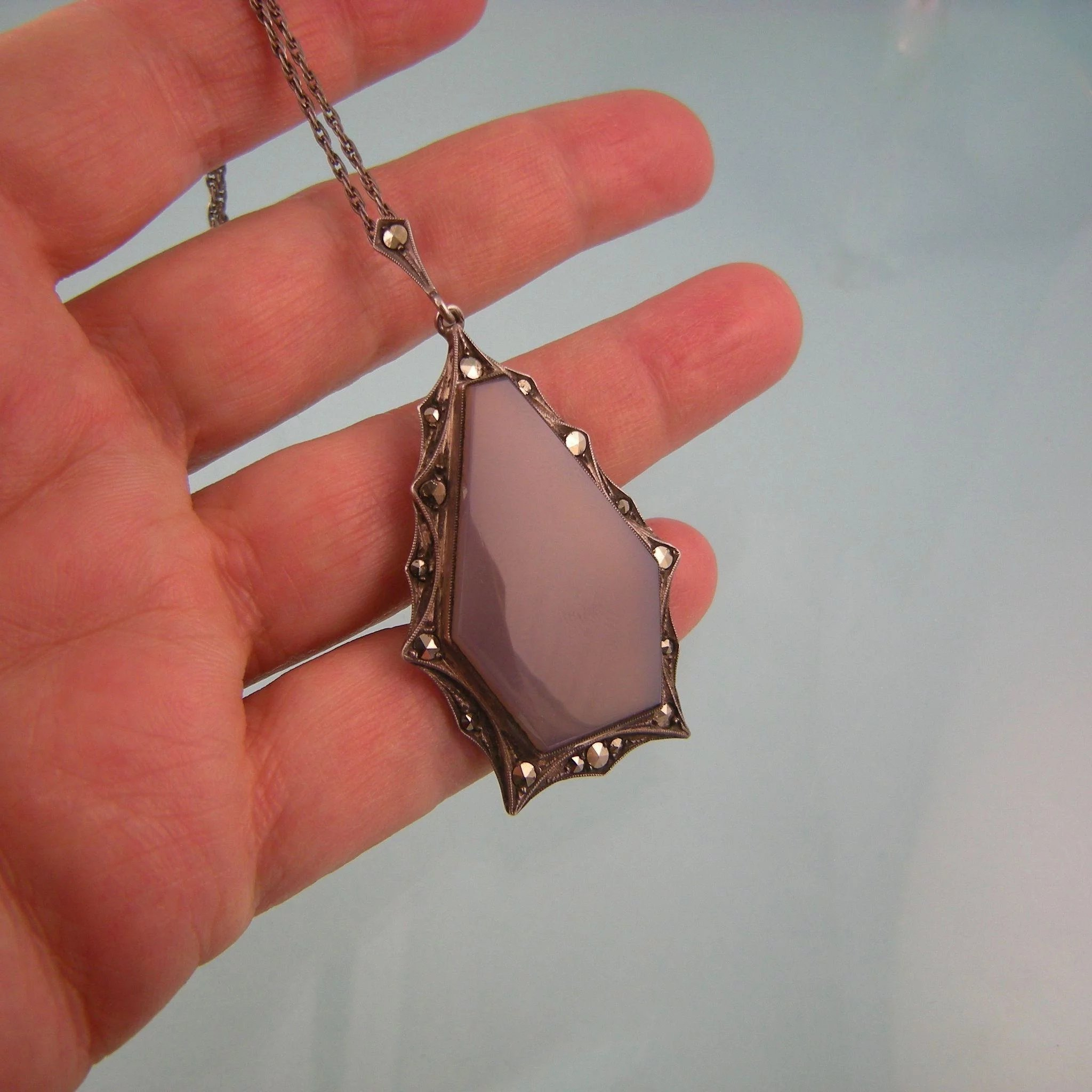 water addictedto drop venta pendant necklaces en online de joyas chalcedony