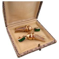 Stunning Kreisler Earrings, For Your First Lady Collection, Retro Deco