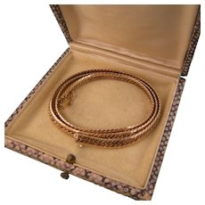 "Vintage Krementz Herringbone Chain, Fine Quality, 18"""