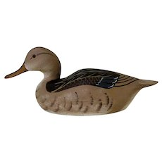 Mallard Hen Decoy Signed Hornick Brothers 1976 Oak Hall, VA