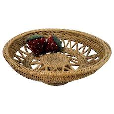 1930's Native American Indian Pedestal Basket