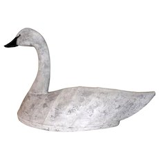 Impressive North Carolina Swan Decoy