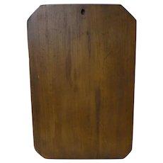 Large 19th C. Walnut PA Dough Board