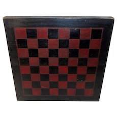Early 1900's Painted Checkerboard