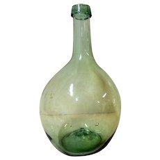 Early Free Blown Glass Utility Bottle