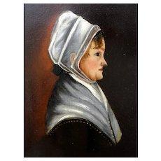 Miniature Early 19th C. Portrait