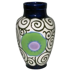 Czech Pottery 7-inch Dazzler Vase from Dittmar Urbach
