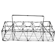 French Wire Bottle Tote