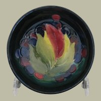 William Moorcroft Leaf and Berries Small Footed Bowl
