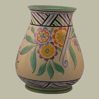 Wedgwood Art Deco Era Hand-Painted Vase