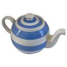 Vintage Cornish Ware Globe Teapot Medium Size