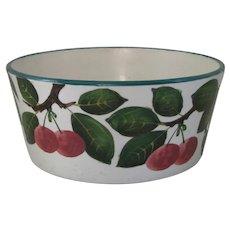 Antique Wemyss Bowl with Cherry Motif