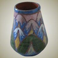 William Baron English Studio Pottery Small Vase