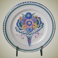 Poole Studio Pottery Plate from the 1920's