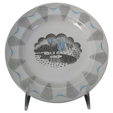 Eric Ravilious Travel Series Plate for Wedgwood
