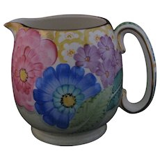Gray's Pottery Hand-Painted Deco Era Jug