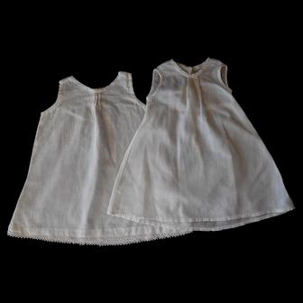 Pair of Vintage Long Baby Doll Slips