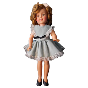 """Shirley Temple 12"""" from 1950's with Wardrobe"""