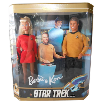 Star Trek 30th Anniversary Barbie & Ken--1996