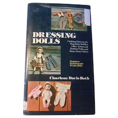 Dressing Dolls--OOP book by C.D. Roth
