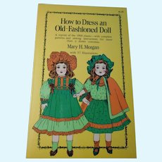 "Three Dover Reprints: ""How to Dress an Old Fashioned Doll,"" ""Southwest Indian Stickers,"" and ""Little Indian Girl Paper Doll"""