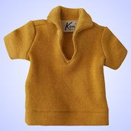 Vintage Ken Knit Shirt--1960's