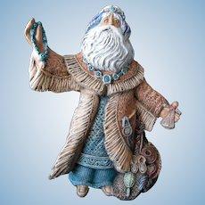 New Age Native American Santa Figurine